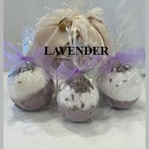 ASSORTED SCENTS & DESIGNS FIZZY BATH BOMBS